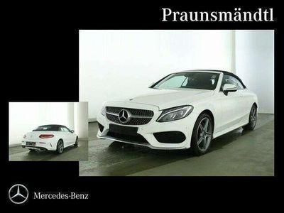 gebraucht Mercedes C200 4M Cabrio AMG Comand/AHK/Sound/ILS/Tot/PTS