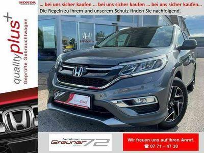 gebraucht Honda CR-V 2.0i-VTEC 2WD Eleg. + Connect Navi, AHK, 1. Hand!