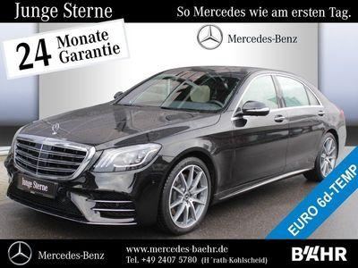 gebraucht Mercedes S400 d 4M Limousine lang AMG Line/COMAND APS Distronic