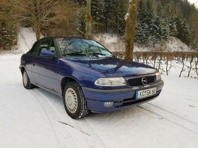 gebraucht Opel Astra Cabriolet F 1.6