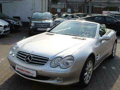 gebraucht Mercedes SL500 2:HAND*92000KM*LEDER*NAVI*XENON*LUFT*TOP!