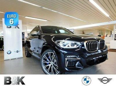 gebraucht BMW X4 M40d monatl. LR ab 899, - Sportpaket Bluetooth