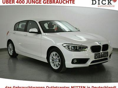 gebraucht BMW 118 d Aut. >LED+NAVI+SITZHZ+PDC+MFL+TEMPOMAT+ALU