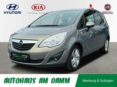 gebraucht Opel Meriva B Design Edition / Rad-CD/ Garantie / SHZ
