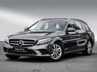 gebraucht Mercedes C180 T Avantgarde/Navi/LED/Cam/Spur/Totw/DAB/17