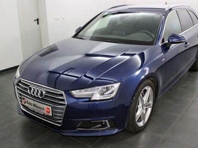 gebraucht Audi A4 2.0 TDI S tronic quattro sport, S-Line, VC