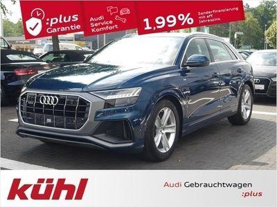 gebraucht Audi Q8 50 3.0 TDI Q Tip S line Luft 20 Zoll AHK Matr