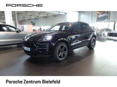 gebraucht Porsche Macan Basis EU6d-T Leder LED Navi Dyn. Kurvenlicht e-Sitze Parklenkass. Rückfahrkam.