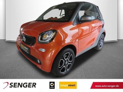 gebraucht Smart ForTwo Cabrio twinamic Passion Cool&Audio Shzg.