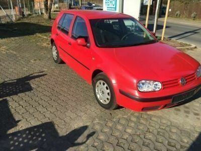 used VW Golf IV rot 75 ps Baujahr 1998 kein tüv mehr