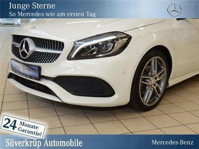 gebraucht Mercedes A180 d AMG Line/Navi/Parkass./Autom./SD/1.Hand