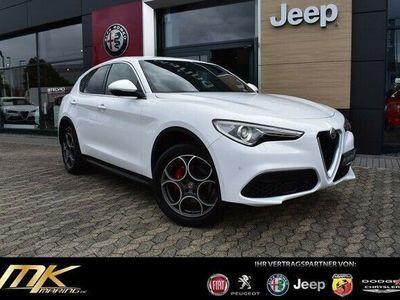 gebraucht Alfa Romeo Stelvio 2.0 Turbo Super *NAVI*19-ZOLL*LEDER*