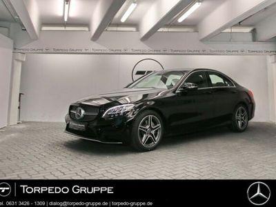 gebraucht Mercedes C180 AMG LED+NAVI+WIDESCREEN+DISTR+KEYLESS+PTS+
