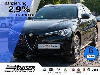 gebraucht Alfa Romeo Stelvio Super 2.0 Turbo AT8 Q4 AHK SPORTPAKET