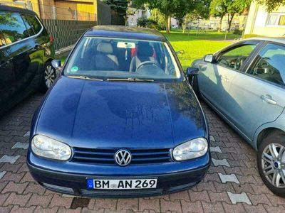 gebraucht VW Golf IV 1.6 4 Türer Fahrbereit