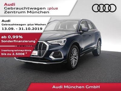 """gebraucht Audi Q3 45 TFSI qu. S tronic sport advanced LED/Navi+/19""""Zoll"""