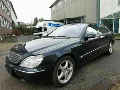 gebraucht Mercedes S600L Langversion 1-Hand Leder-Softcloe-Keyless als Limousine in Hamburg