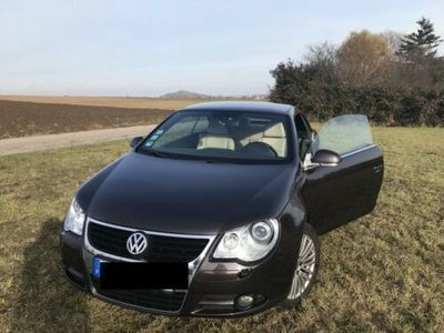 gebraucht VW Eos 2.0 FSI, Cabrio, SHZ, Panoramadach, Tempomat etc.