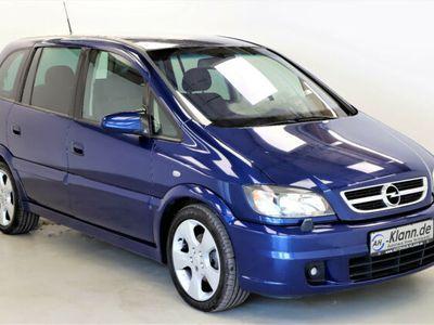 gebraucht Opel Zafira A 2.2 Edition 147 PS Autom Navi 7 Sitzer