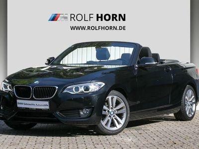 gebraucht BMW 218 d Cabrio Advantage