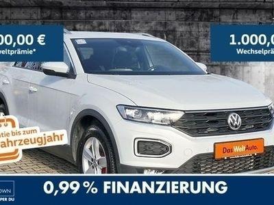 gebraucht VW T-Roc Sport 2.0TSI 4Mot EU6 DSG Navi LED ACC PDC