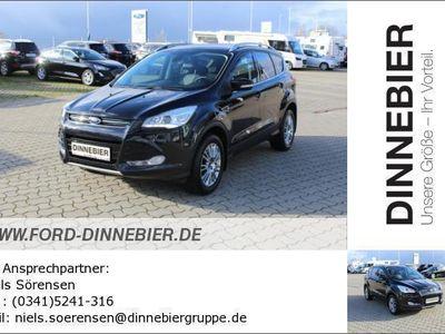 gebraucht Ford Kuga Titanium 2.0TDCi 163PS 4x4 Automatik Navi Gebrauchtwagen, bei Autohaus Dinnebier GmbH