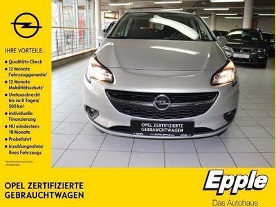 gebraucht Opel Corsa E Active 1.4 EU6d-T Rückfahrkam. PDCv+h Beheizb. Frontsch. Multif.Lenkrad RDC Klima
