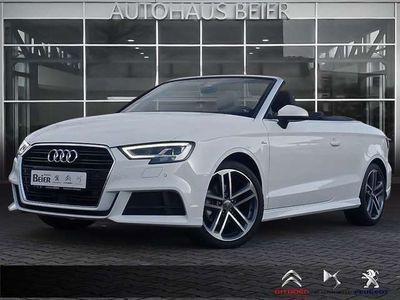 "gebraucht Audi A3 Cabriolet TFSI 150 stronic sport *s-line*ACC*LED*18""*"