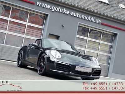 gebraucht Porsche 991 S Cabrio*Sportabgas,U-frei,PZ-Scheckheft*