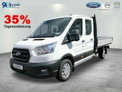 gebraucht Ford Transit 350 L4 DK Pritsche AHK/Pritsche breit/AC
