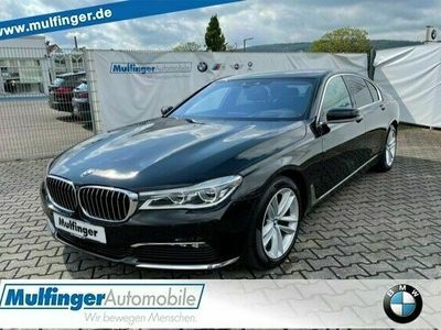 gebraucht BMW 730 d KomfS+Massage+Bel.DrivAss+ACC Gestik SoftCl HUD