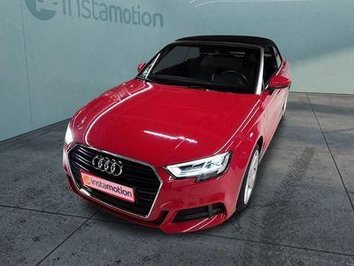 gebraucht Audi A3 Cabriolet A3 2.0 TDI S LINE AHK LED LM18 NAVI