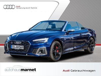 gebraucht Audi S5 Cabriolet Cabrio TFSI tiptronic HuD virtual cockpit plus Leder Feinnappa mit S-Prägun