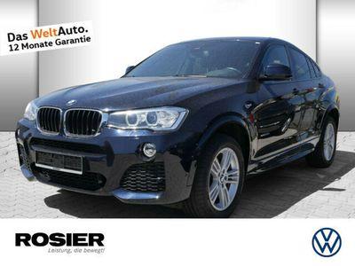 gebraucht BMW X4 xDrive 20d M Sport Xenon HUD Navi Kamera Keyl
