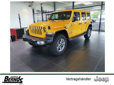 gebraucht Jeep Wrangler Unlimited Sahara DUALTOP_LEDER_TECHNO