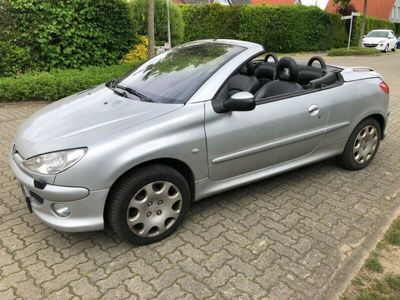 gebraucht Peugeot 206 CC 1.6 **TÜV**LEDER**KLIMAUTO