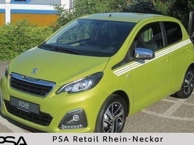 gebraucht Peugeot 108 Top Active 68 5tür. *Klima *Radio *Elektr. Faltdac