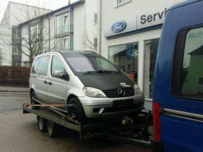 gebraucht Mercedes Vaneo 1.6i - TÜV 02/17 - 140TKm - 8x Reifen