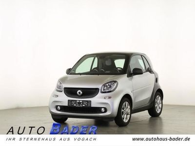 gebraucht Smart ForTwo Coupé 66 kW Passion Automatik Cool+Audio Panorama