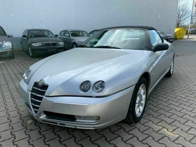 gebraucht Alfa Romeo Spider *Cabrio*Leder*Alu*TÜV/AU*