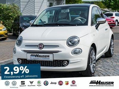 gebraucht Fiat 500 1.2 8V S+S LOUNGE NAVI PANO KLIMA ALU PDC