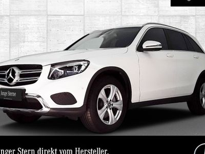 gebraucht Mercedes GLC220 d 4M Exclusive COMAND ILS LED Spurhalt-Ass