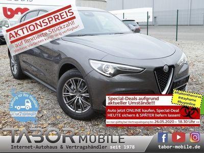 gebraucht Alfa Romeo Stelvio 2.2 JTDM 190 AT8 Super Nav Xenon 18Z