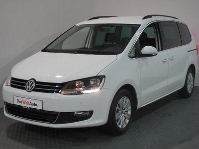 gebraucht VW Sharan Comfortline 2.0 TDI Navi PDC SHZ Front Assist 7-Sitzer Automatik Sportsitze Bremsass