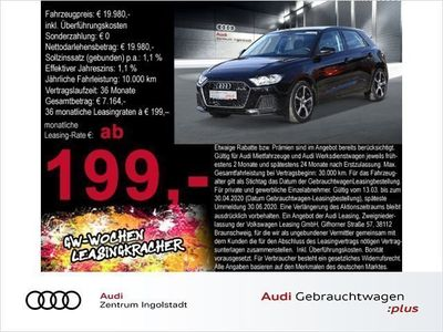 gebraucht Audi A1 Sportback 30 TFSI Virtual DAB 17 Advanced