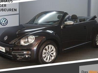 gebraucht VW Beetle Cabriolet Design 2.0TDI Navi/GRA/Sitzhz