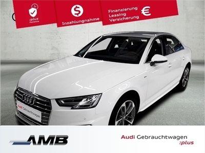 gebraucht Audi A4 Limousine sport 40 TFSI 140 kW (190 PS) S tronic