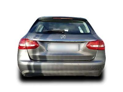 gebraucht Mercedes C220 T-Modell d Business 9G-Tronic 8-fach bereift, N...