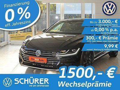 gebraucht VW Arteon R-Line 2.0TDI SCR DSG 4M LED°Pano°ACC°DCC°NaviPro°Headup°AreaView-360°-Kamera