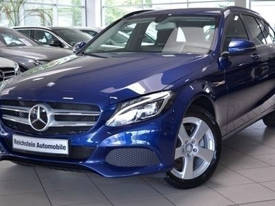 gebraucht Mercedes C220 T d 4M DISTRONIC KEYLES-GO NETTO 19.600